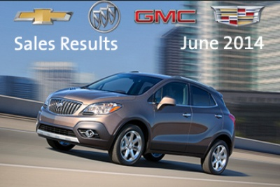 GENERAL MOTORS POSTS BEST JUNE SALES SINCE 2007