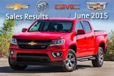 GM EARNS HIGHEST JUNE RETAIL MARKET SHARE SINCE 2011
