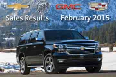 GM Truck Sales Climb 36 percent in February