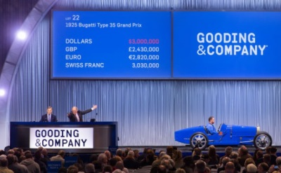 Gooding & Company Garners More Than $33.4 Million from The Finest Collector Cars at The Scottsdale Auctions