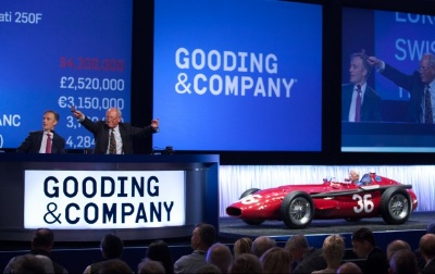 Gooding & Company's Two-Day Pebble Beach Auctions Realizes More Than $106 Million