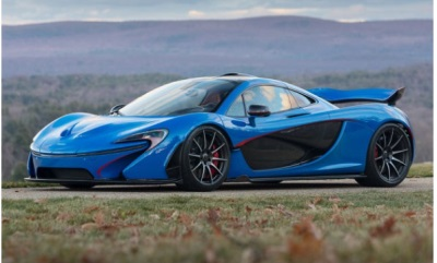 Gooding & Company Announces a Show-Stopping 2015 McLaren P1 for the Company's Amelia Island Auction in March