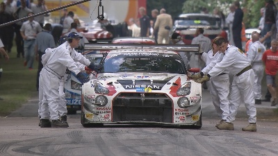 GOODWOOD FESTIVAL OF SPEED OFFERS SPORT AND SHOW
