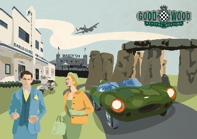 GOODWOOD REVIVAL BRINGS STONEHENGE TO WEST SUSSEX!