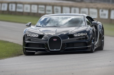 GOODWOOD FESTIVAL OF SPEED 2016: UK PREMIERE OF THE BUGATTI CHIRON