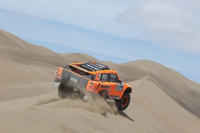 GORDON FINISHES NINTH IN STAGE 9 AT DAKAR RALLY