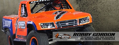 Gordon Tops Qualfying In Round #4 Of Stadium Super Trucks