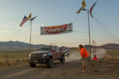 Hall Racing Completes America's Longest Off-Road Race In A Colorado ZR2