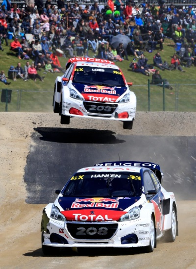 Timmy Hansen And The Peugeot 208 WRX Finish Just Shy Of Victory In Belgium