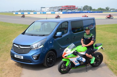 Leon Haslam Is Vauxhall Commercial Vehicles' New Brand Ambassador