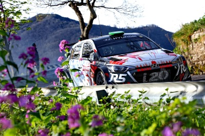 Hayden Paddon Secures Second Position On Hard-Fought Rallye Sanremo