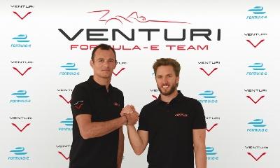 NICK HEIDFELD & STÉPHANE SARRAZIN TO DRIVE FOR VENTURI IN FORMULA E