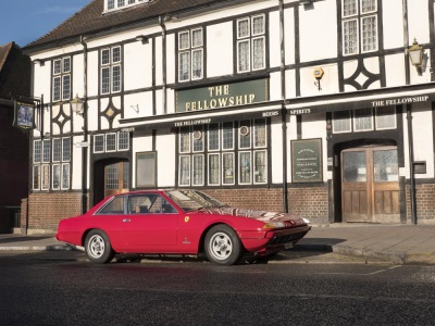 BOXING LEGEND HENRY COOPER'S FERRARI TO GO UNDER THE 'AMMER AT COYS AUCTION IN LONDON