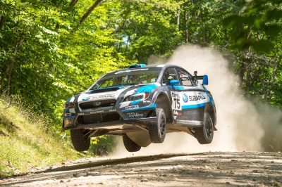 DAVID HIGGINS FENDS OFF RIVALS TO WIN THE 2015 NEW ENGLAND FOREST RALLY AND CLINCH THE 2015 RALLY AMERICA CHAMPIONSHIP