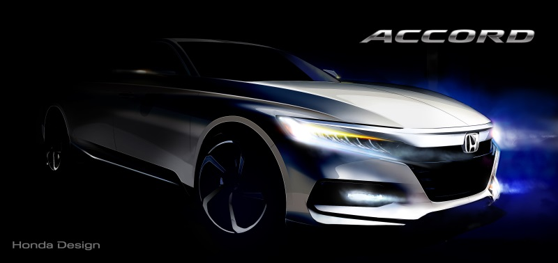 World Debut Of Dramatically-Styled 10Th Generation Honda Accord Set For July 14