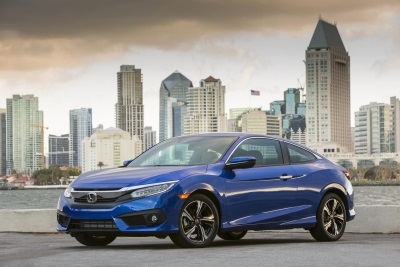 ALL-NEW 2016 HONDA CIVIC COUPE EARNS IIHS TOP SAFETY PICK+ RATING