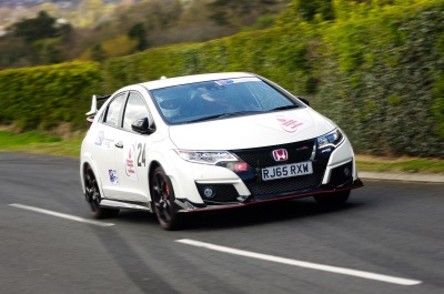 Historic Weekend For Civic Type R At Craigantlet Hill
