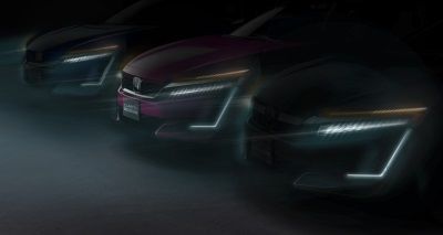 Honda Clarity Plug-In Hybrid And Honda Clarity Electric To Make Worldwide Debut At 2017 New York International Auto Show