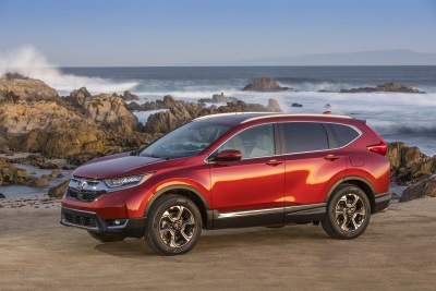 Honda Begins First Production Of SUVs In Indiana With 2017 CR-V