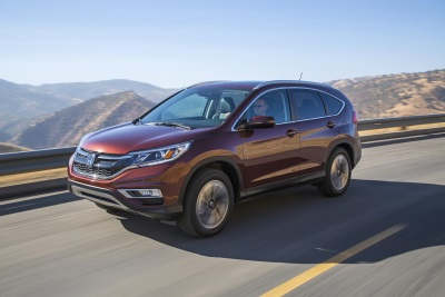 Honda CR-V, HR-V And Fit Receive '2017 Best Cars For The Money' Award From U.S. News & World Report
