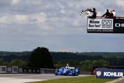 Dixon Does It! Pilots His Honda To Victory At Road America