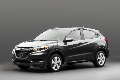 HONDA HR-V COMPACT SUV TO JOIN ALL-NEW 2015 FIT AS HONDA EXPANDS SMALL CAR LINEUP