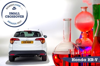 Honda HR-V Wins Honest John Small Crossover Award