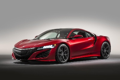HONDA NSX SUPERCAR MAKES EUROPEAN DEBUT