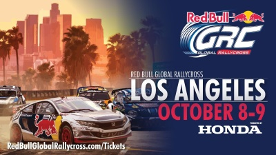 HONDA SIGNS ON AS PRESENTING SPONSOR FOR RED BULL GLOBAL RALLYCROSS SEASON FINALE IN LOS ANGELES, OCTOBER 8-9