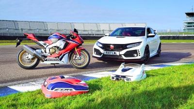 Miimo Type R & Fireblade Prototypes Break Cover To Join Honda's 25Th Anniversary Celebrations #Honda25