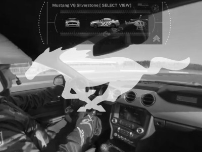 AMAZING NEW MULTI-PERSPECTIVE VIDEO LETS VIEWERS EXPERIENCE A HOT LAP IN THE NEW FORD MUSTANG AT SILVERSTONE RACE TRACK