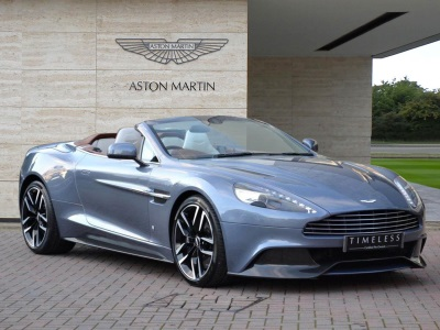 Special-Edition, One-Of-One Aston Martin Vanquish Volante Goes On Sale At H.R. Owen