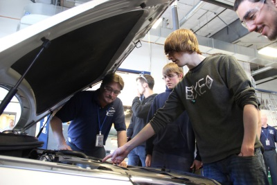 HYUNDAI DONATES 2015 SONATA TO HIGH SCHOOL AUTOMOTIVE PROGRAM