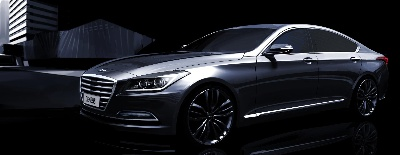 Hyundai Motor Previews Soon-To-Be Launched All-New Genesis Premium Sedan
