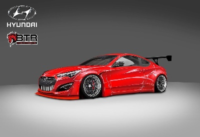 HYUNDAI TEAMS UP WITH BLOOD TYPE RACING INC. TO BRING THE EXCITEMENT OF UNDERGROUND RACING TO SEMA