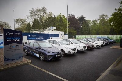 HYUNDAI WELCOMES FIRST OF FIVE NEW HYDROGEN FUELLING STATIONS IN THE LONDON AREA THIS YEAR