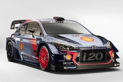 HYUNDAI MOTORSPORT UNVEILS HYUNDAI i20 COUPE WRC FOR THE TEAM'S 2017 WRC SEASON