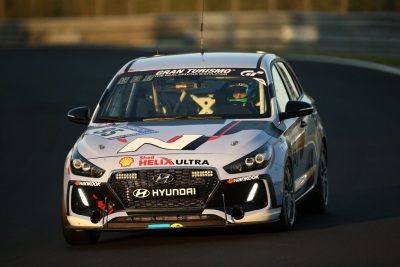Hyundai To Debut Competition-Proven I30 N Racecar From 24-Hours Of Nurburging At 2017 SEMA Show