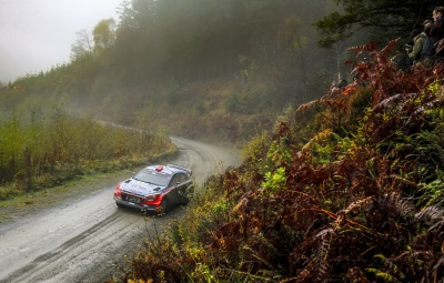 Four-Car Challenge For Hyundai Motorsport At Wales Rally GB