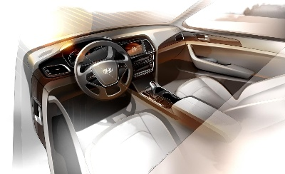 ALL-NEW SONATA INTERIOR RENDERING IMAGE