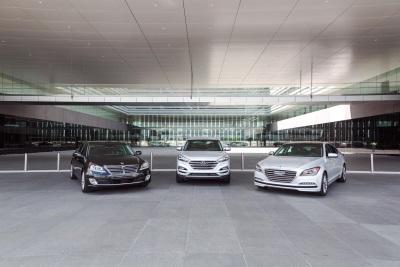 Hyundai Tucson Equus And Genesis Honored In Inaugraual