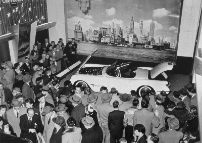 Iconic Corvette Began 60 Years Ago