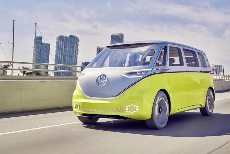 I.D. Buzz Named '2017 Concept Truck Of The Year' At 16Th Annual North American Concept Vehicle Of The Year Awards