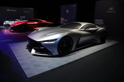 INFINITI CONCEPT VISION DISPLAYED AT GRAN TURISMO® GT SPORT LAUNCH