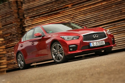 INFINITI SETS NEW GLOBAL SALES RECORD IN THE FIRST HALF OF 2015