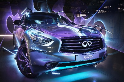 INFINITI BRINGS 'INSPIRED LIGHT' TO KINGDOM OF SAUDI ARABIA