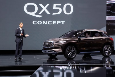 Infiniti Maintains Global Momentum, Has Best January Sales In History