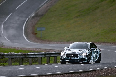 BEIJING DEBUT FOR INFINITI Q50 EAU ROUGE RUNNING PROTOTYPE