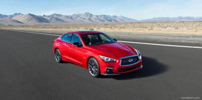2018 Infiniti Q50 Makes Its North American Debut At The 2017 New York International Auto Show