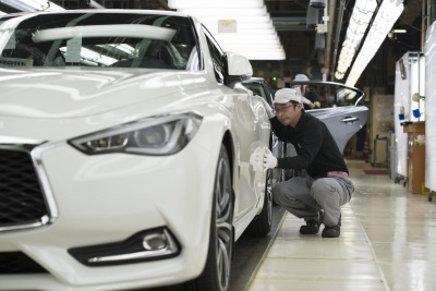 NEW INFINITI Q60 SPORTS COUPE STARTS PRODUCTION AT TOCHIGI PLANT IN JAPAN